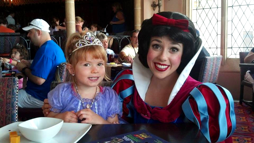 Snag a last minute Cinderella's Royal Table dining reservation at Disney World at an off time.