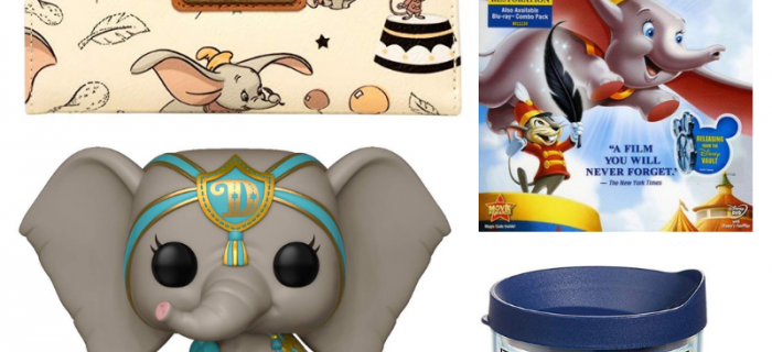 Enter today for a chance to win this awesome Dumbo Prize Pack! The new live action Dumbo film is in theaters March 29, 2019.