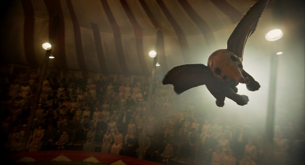 Even with some intense scenes Dumbo is overall a family film.