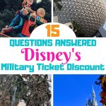 Navigating the ins and outs of Disney's Armed Forces Salute military discount can be challenging. Including discounted tickets and rooms that can save military families thousands! Here are 15 answers to some of the most frequently asked questions. #DisneyArmedForcesSalute #DisneyWorld #Disneymilitarydiscount #militaryfamilies