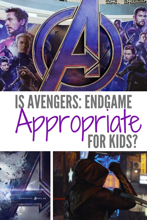 Is Avengers: Endgame kid friendly? Read my spoiler free review to decide if Endgame is appropriate for your family movie night.