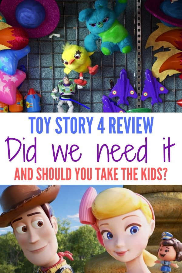 Find out if we need a fourth movie, is it kid friendly and more all in this spoiler free Toy Story 4 review.