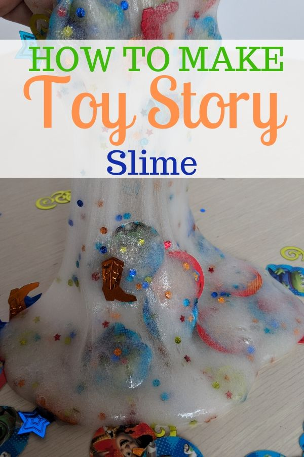 How to make Toy Story Slime that will keep your kids entertained! #ToyStory4 #Slimerecipe