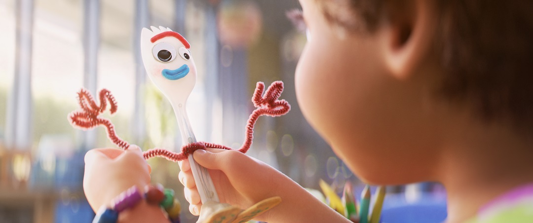 Meet the newest toy - Forky.