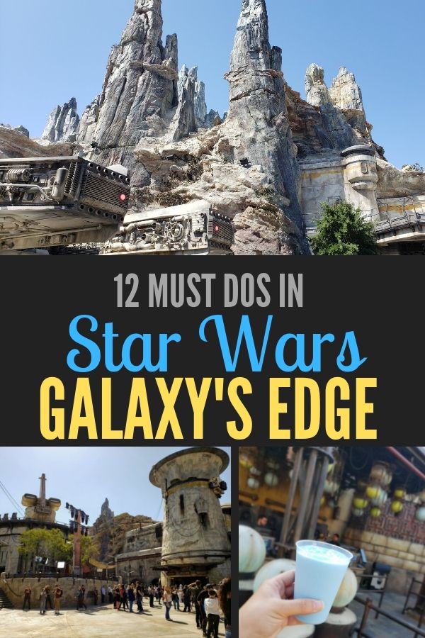Find out what tops the must do list at Star Wars: Galaxy's Edge in Disneyland and Disney World!
