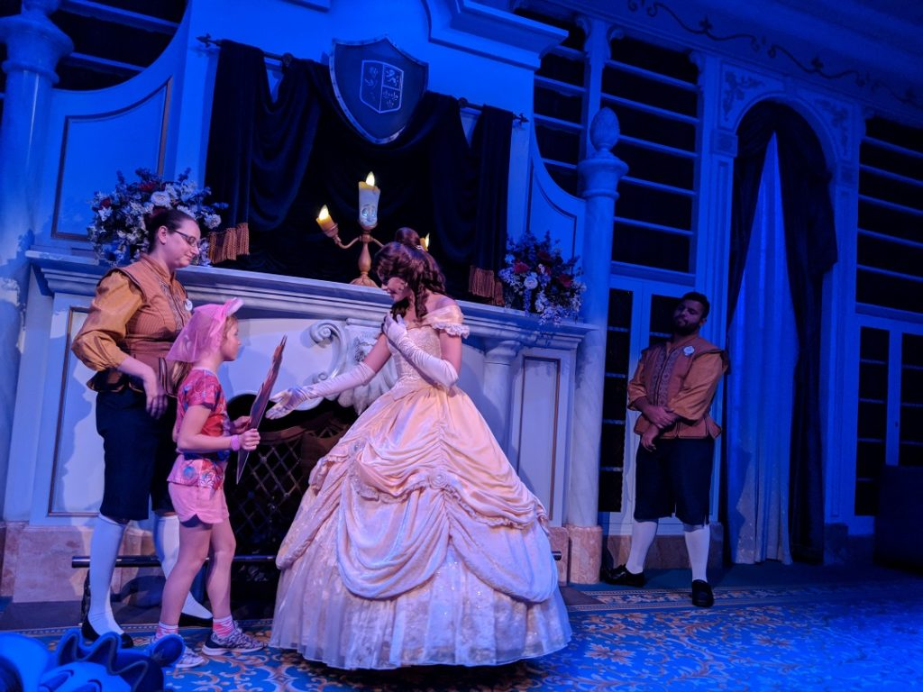 Escape the the heat with the shows when doing Disney World with autism.