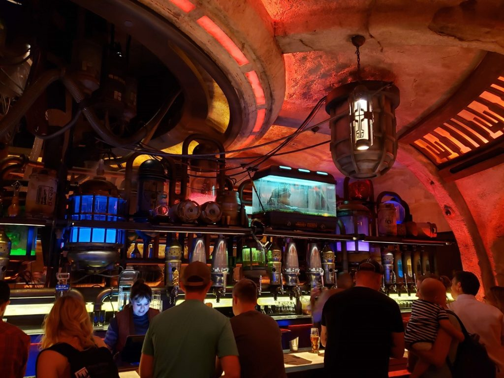 Oga's Cantina is the place to hide out and sip some beverages.