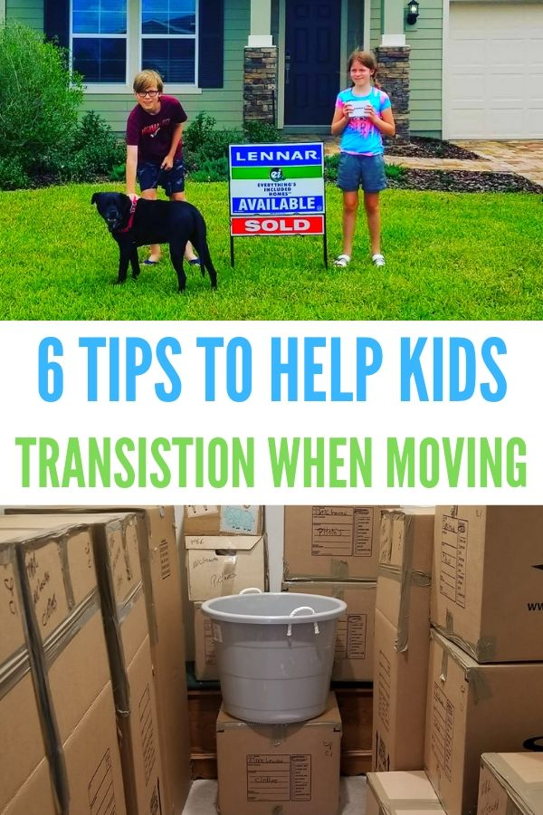 Moving with kids can be a pain. Here are 6 ways to help ease the pain.