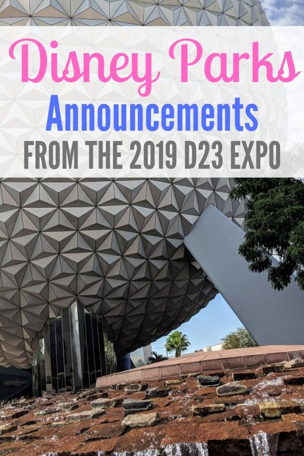 The 2019 D23 Expo announcements are just getting started, but here are just a few that we've learned about so far!
