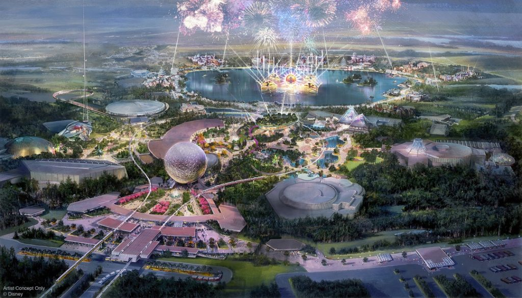 Take a look at the transformation of Epcot. Just one of the D23 Expo announcements.