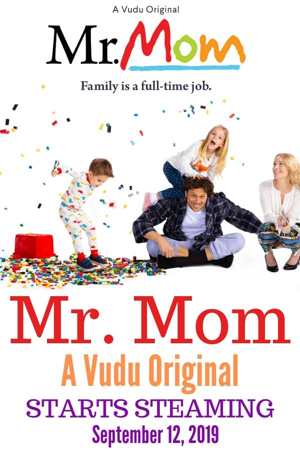 An all new original VUDU series, Mr. Mom will quickly become a family favorite. Stream for free starting September 12, 2019.