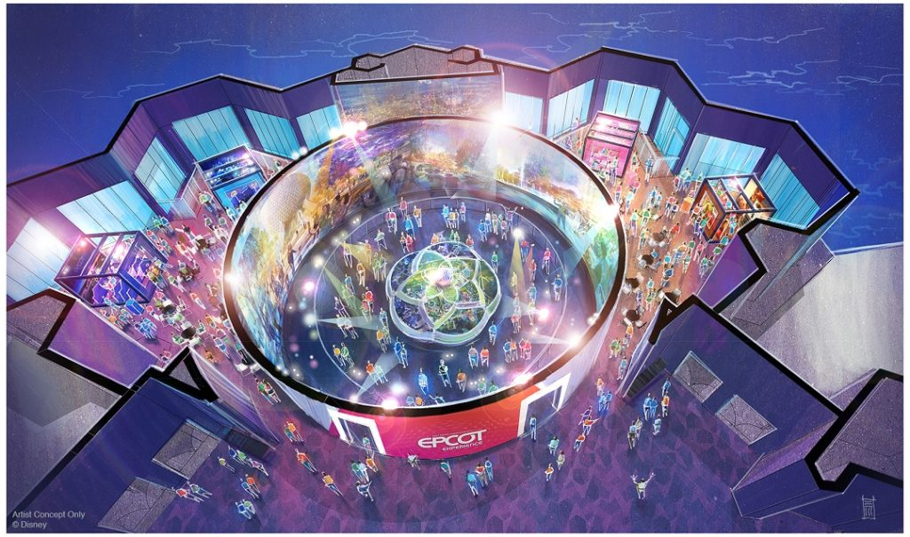 New look at Epcot's expansion at the Walt Disney Imagineering presents the Epcot Experience.