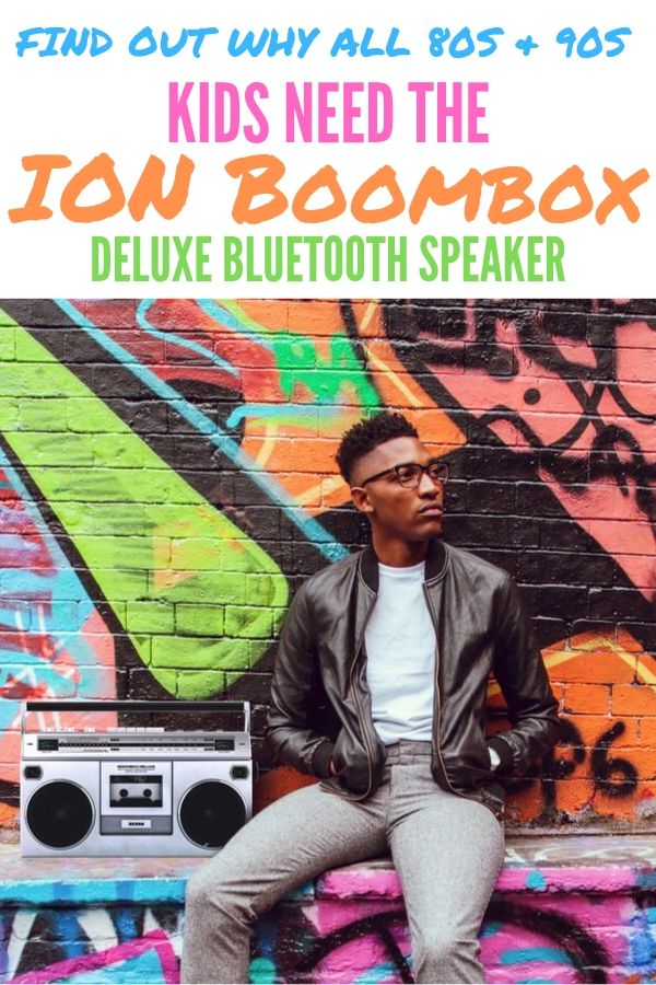 (AD) Dig out the cassette tapes and get ready to bring the 90s home! The ION Boombox Deluxe Bluetooth Speaker plays tapes, connects to any bluetooth device and so much more! Grab your's today at Best Buy.