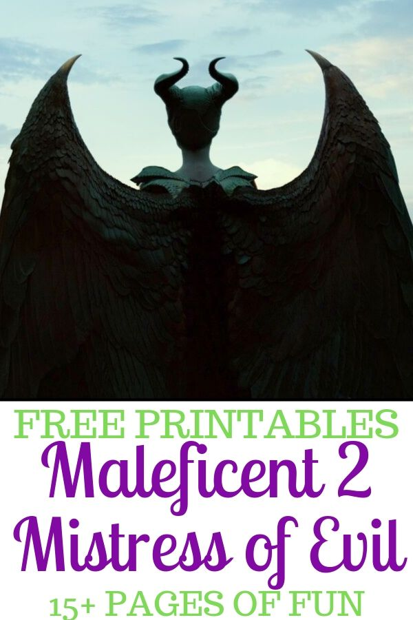 Discover more than 15 pages of fun with this Maleficent 2 activity booklet.