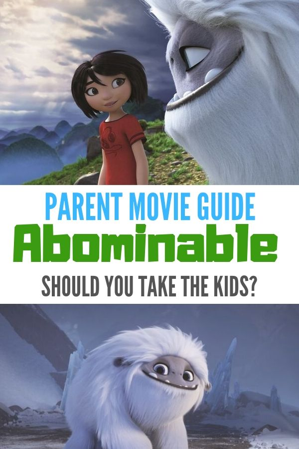 Find out if Abominable is kid-friendly in this parent movie review.