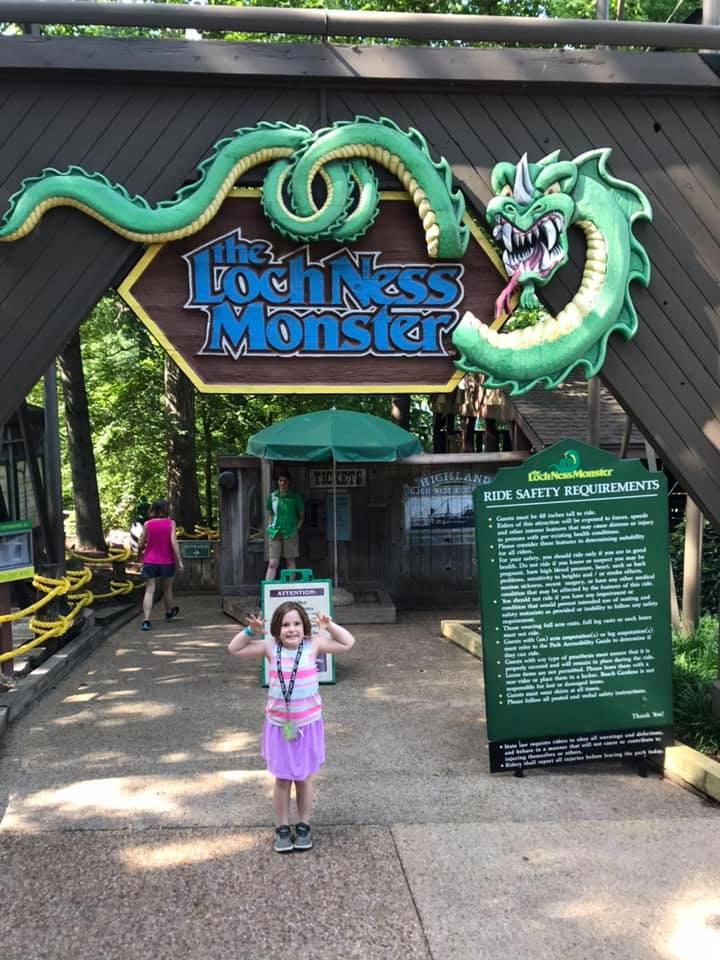 Kids love Busch Gardens!