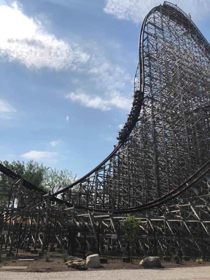 Take a ride on Cedar Point's Steel Vengeance