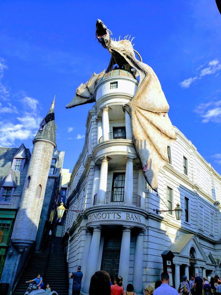 Universal Studios Orlando Harry Potter themed lands are fan favorites.