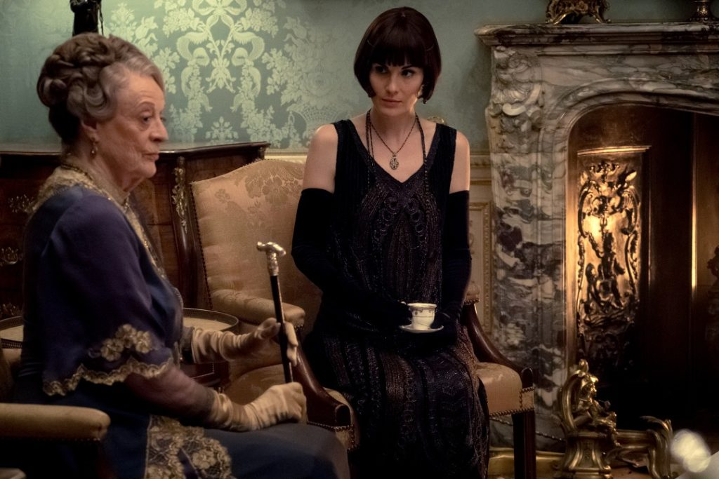 The Dowager didn't disappoint in the Downton Abbey movie.
