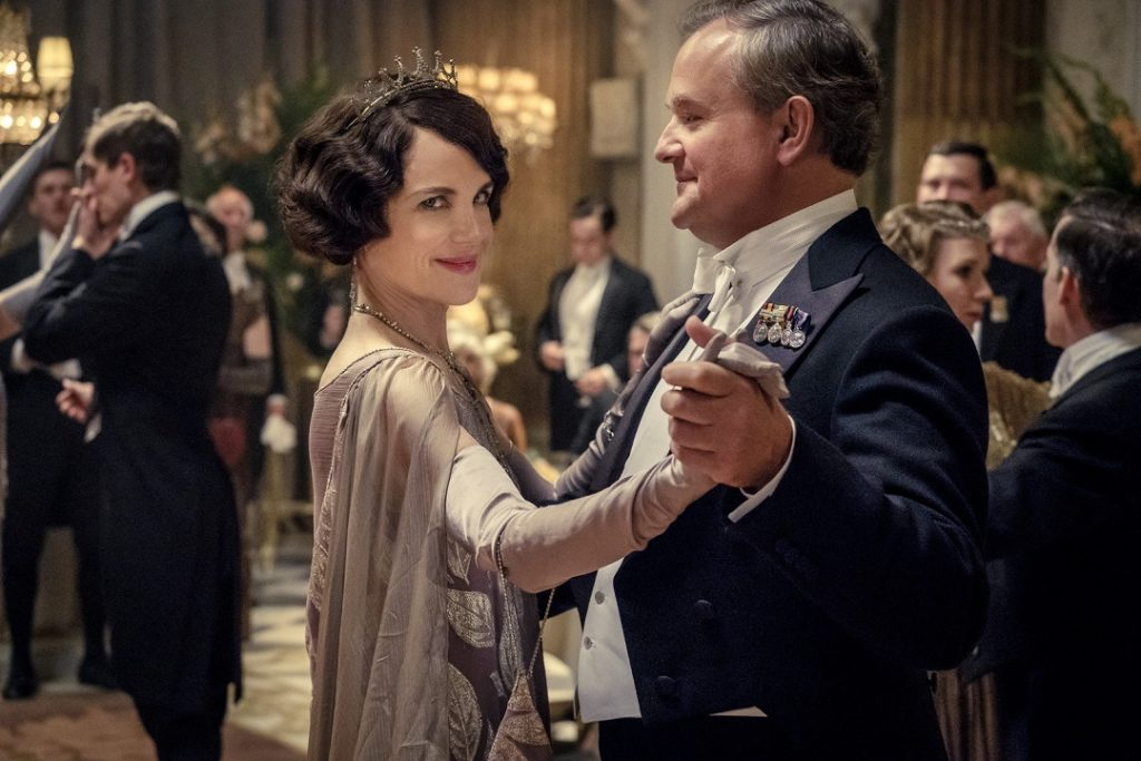 Lady Crawley leads the family into a wonderful 2 hours.