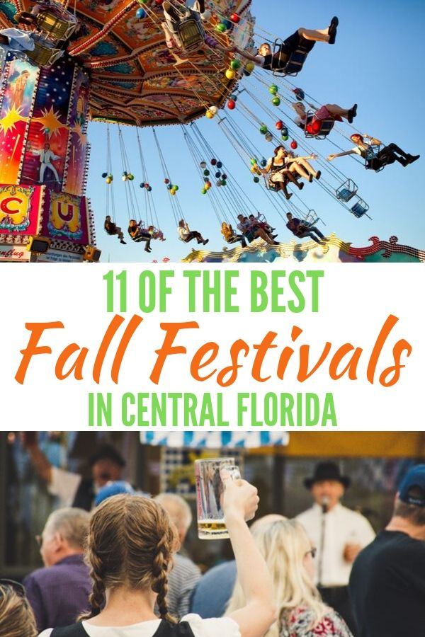 Discover 11 of the best fall festivals in Central Florida.