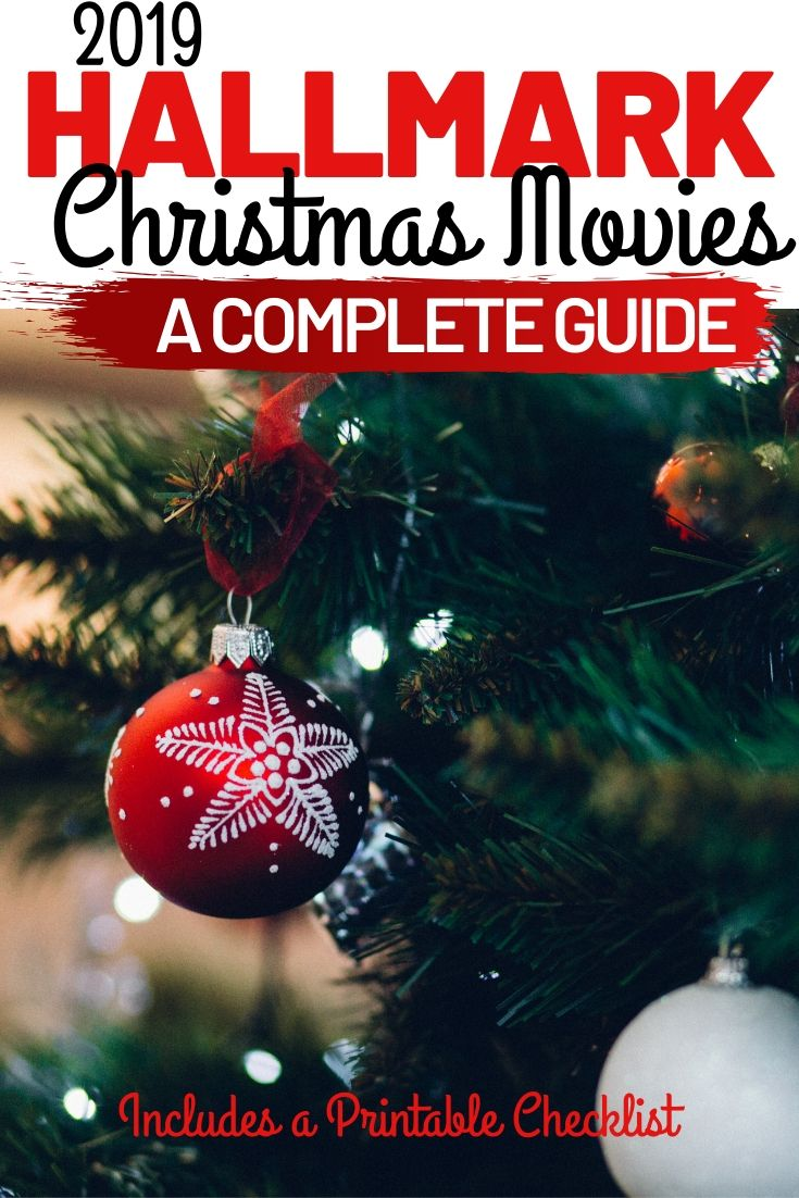 A complete list of 40 NEW Hallmark Christmas movies for 2019.