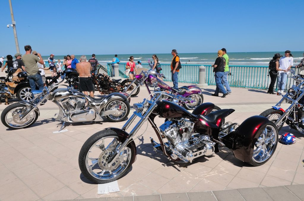 Kick it into high gear at the Daytona Beach Biketoberfest.