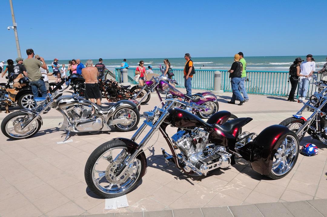 Kick it into high gear at the Daytona Beach Biketoberfest.
