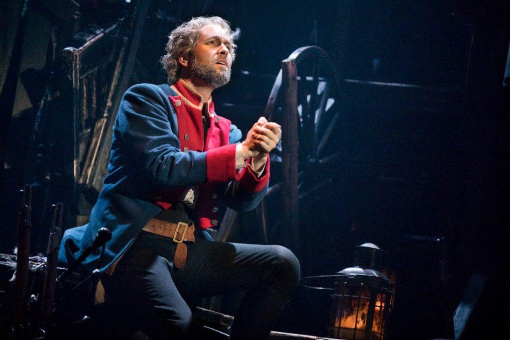 Nick Cartell as Jean Valjean in Les Miserables