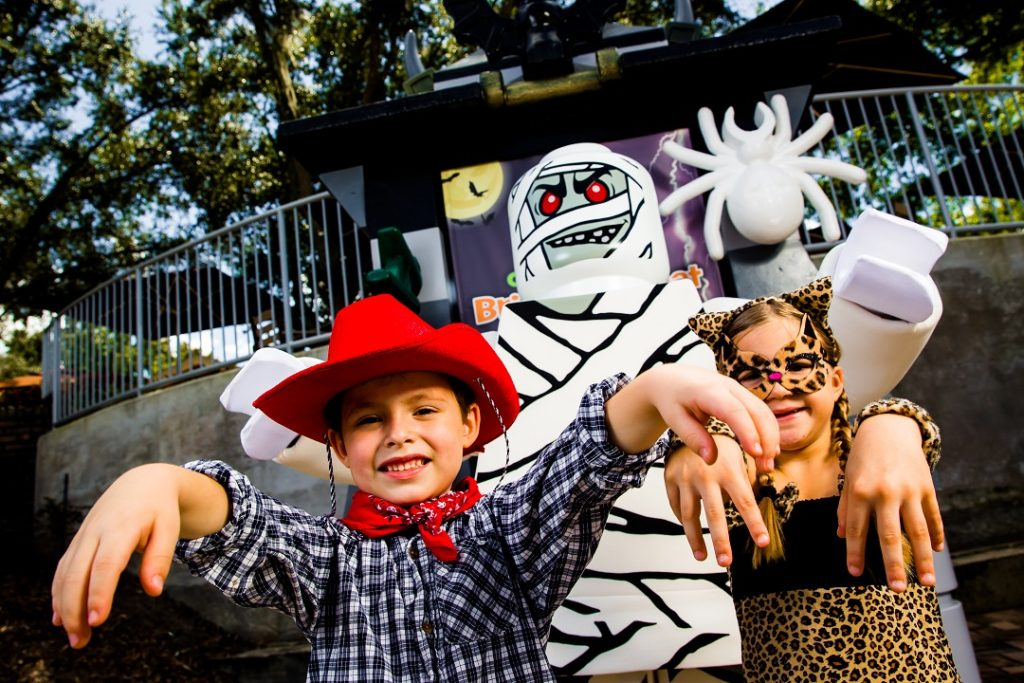 Brick or Treat at LEGOLAND in California and Florida is awesome for young kids.