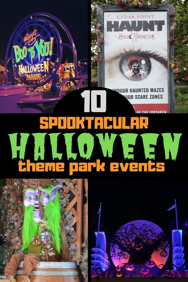 Discover 10 frightfully fun theme park Halloween events.