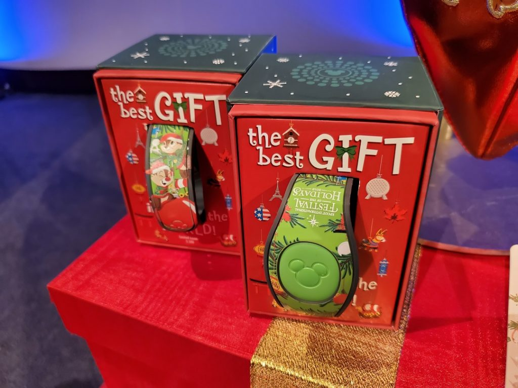 2019 Epcot International Festival of the Holidays limited edition MagicBand