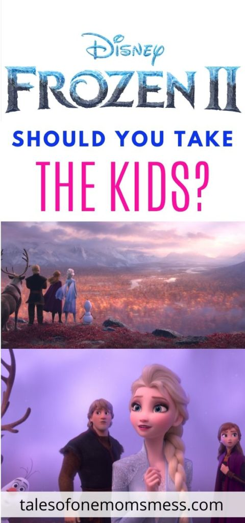 Pinnable image for Frozen 2 with scenes from the film.