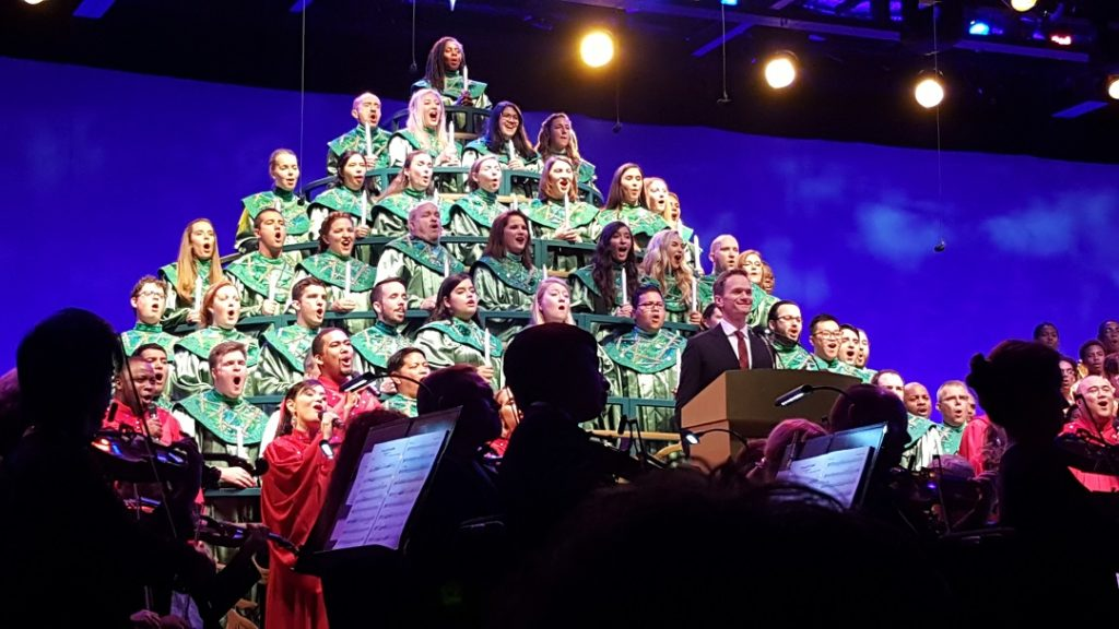 The Candlelight Processional starring Neil Patrick Harris in 2018