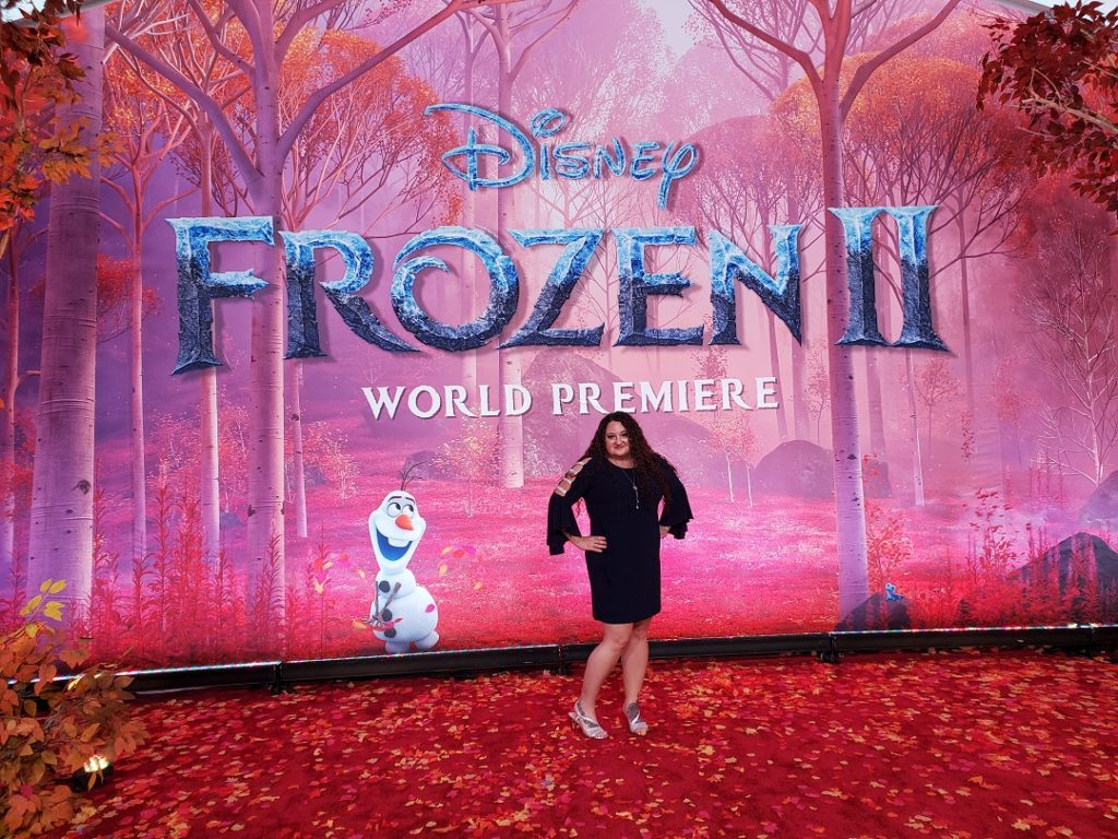 Picture of Renee Virata at the Frozen 2 red carpet