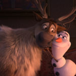 Sven and Olaf from Frozen 2