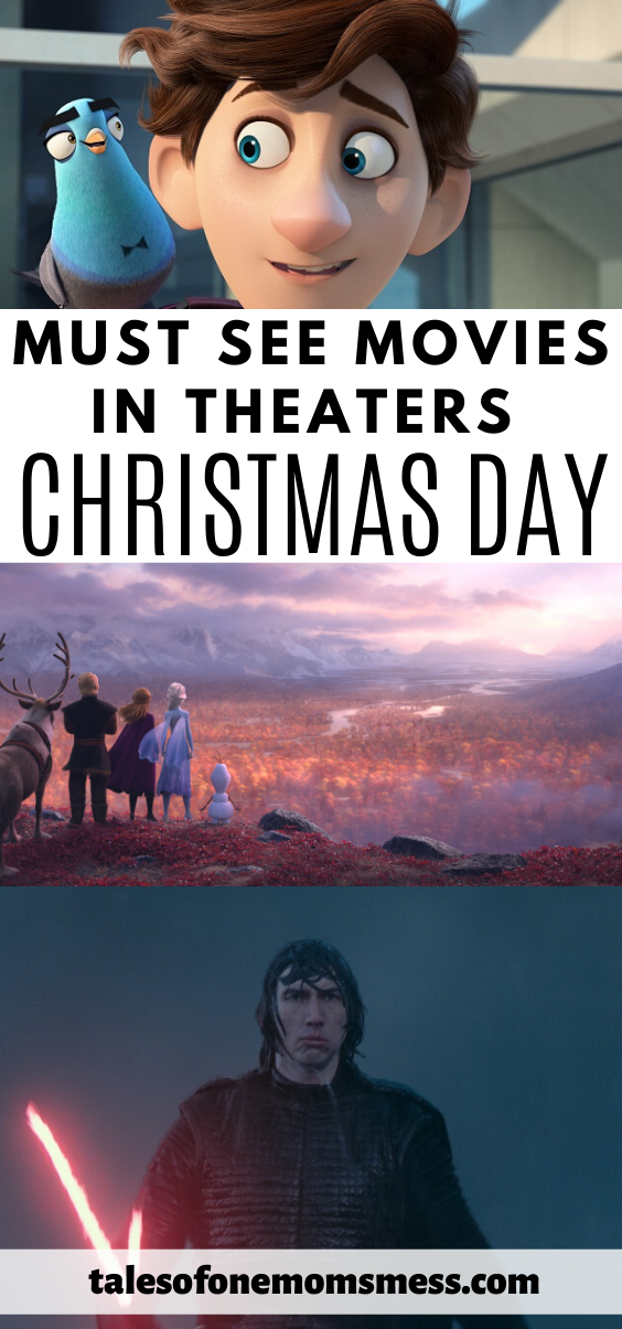 6 must-see movies in theaters on Christmas day.