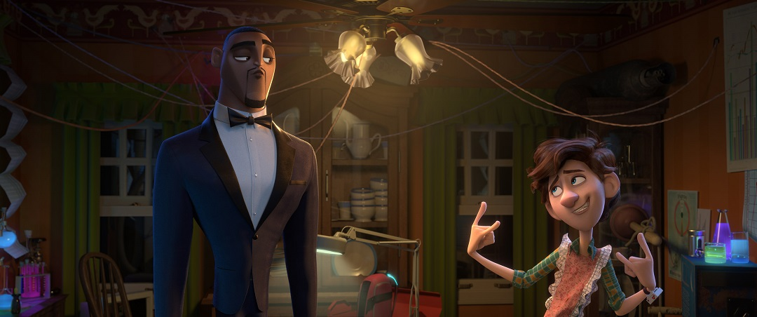 Lance and Walter from Spies in Disguise