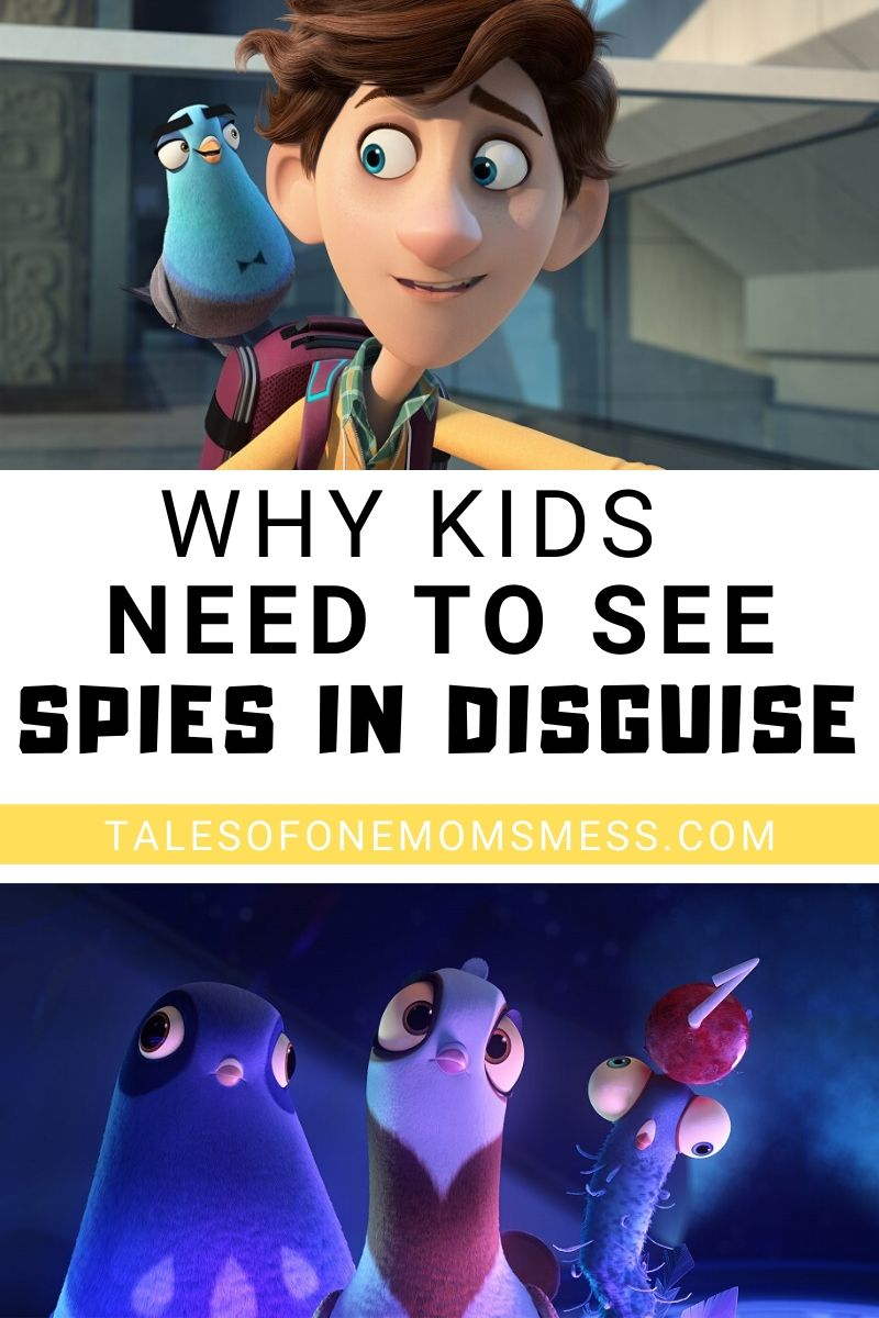 Spies in Disguise pinnable image