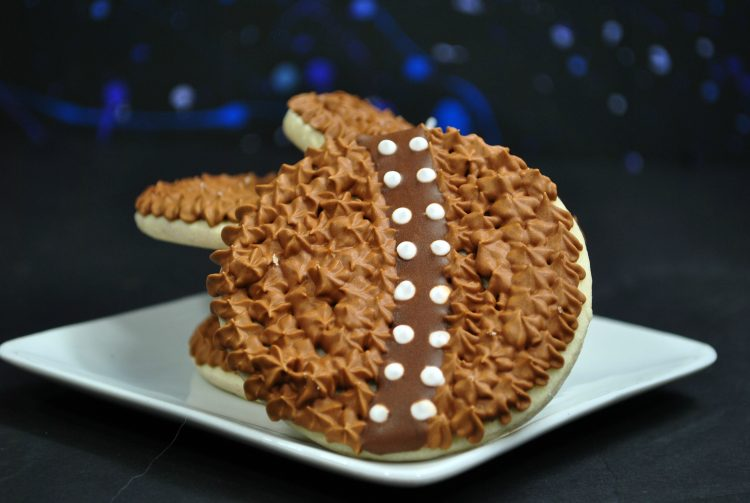 Chewbacca inspired cookies