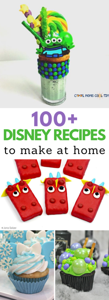 Disney recipes at home