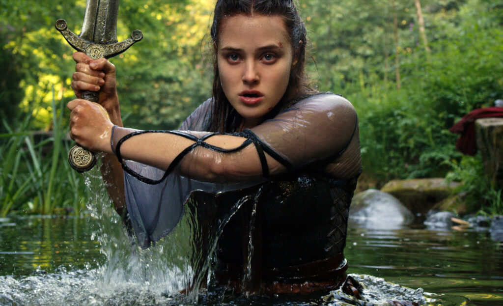 KATHERINE LANGFORD as NIMUE in NETFLIX CURSED COURTESY OF Netflix © 2020