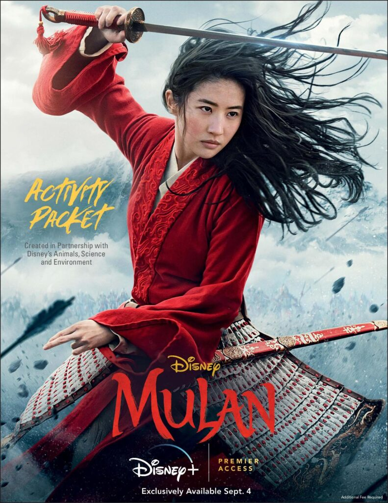 Disney's Mulan Activity Packet