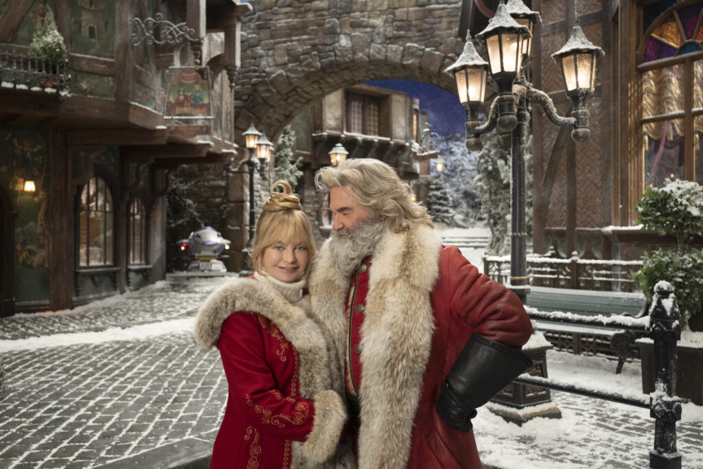 Goldie Hawn and Kurt Russell return as Mrs. Claus and  Santa Claus in The Christmas Chronicles Part 2 on Netflix