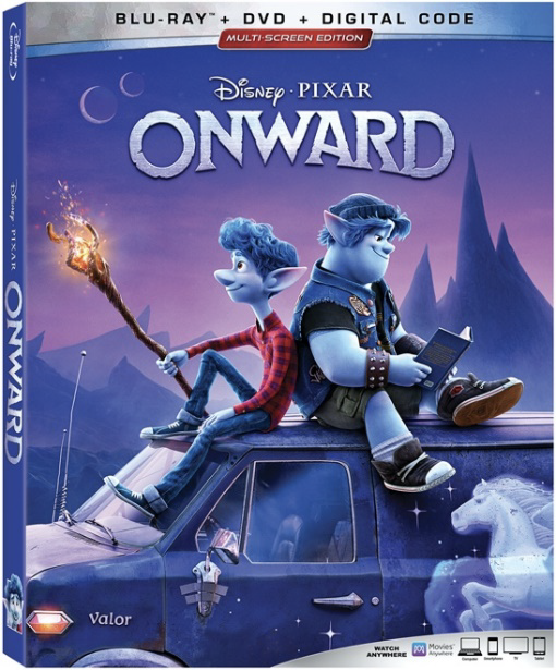 Onward from Disney and Pixar on Blu-ray