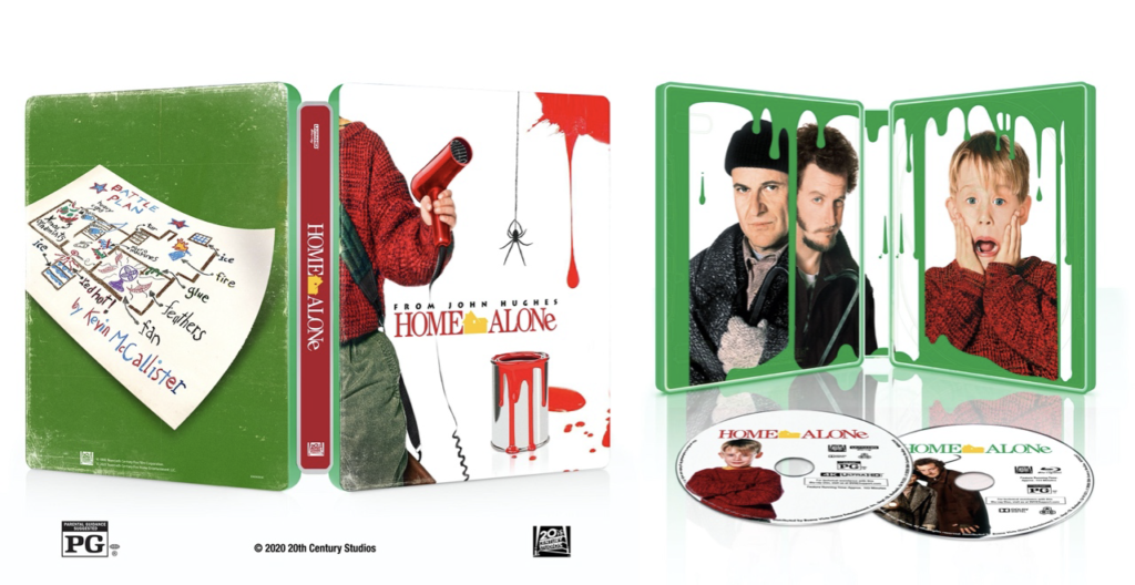 Home Alone 30th Anniversary Steelbook is the perfect collectable for movie gift guide!
