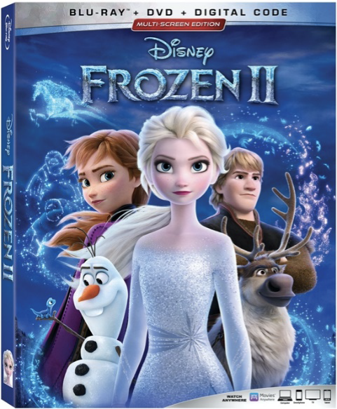 Frozen 2 tops the movie gift guide for families!