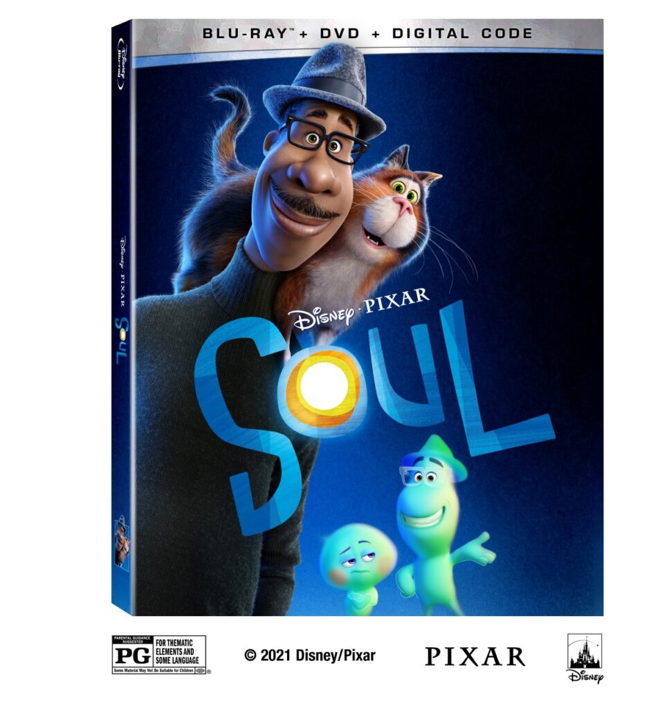 Soul on Blu-ray cover art