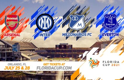 Florida Cup 2021 Soccer Promotional Graphic